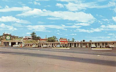 Cities Service Gas Station & Morral's Motor Lodge-Breezewood,pa