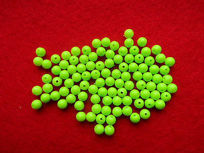 5 mm SEA FISHING ATTRACTOR BEADS 7 DIFFERENT COLOURS 100 IN EACH PACK