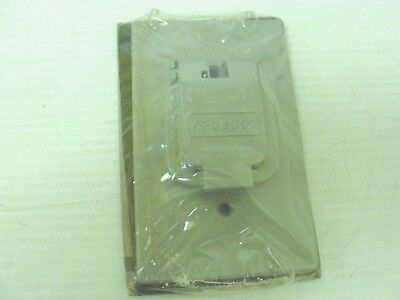 T&B Steel City ED006951-002 Outlet Cover, 2-gang (Lot of 3)