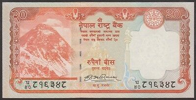TWN - NEPAL 62a - 20 Rupees 2008 UNC