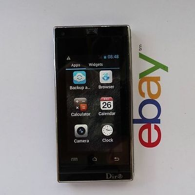 White New Unlocked T6 Flip cell phone Quad Band Dual SIM card MP3 mobile phone
