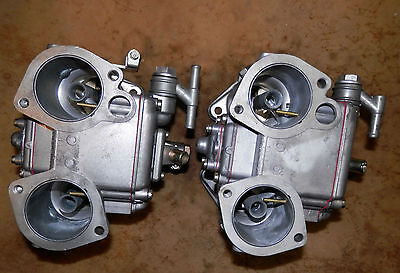 Dellorto 40 Dhla Blow Thru Turbo Carburetors-Tri-Jets
