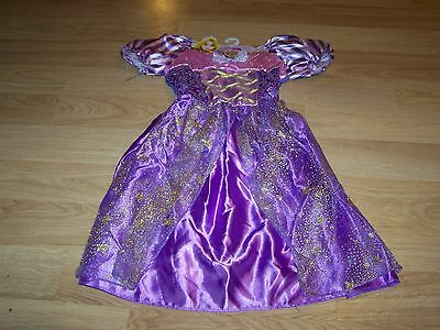 Size 4-6X Disney Tangled Princess Rapunzel Costume Dress Up Halloween Purple New & SIZE 4-6X DISNEY Tangled Princess Rapunzel Costume Dress Up ...