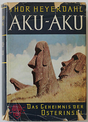 Thor Heyerdahl AKU-AKU Easter Islands book