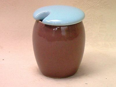 Denby Langley Lucerne Covered Mustard Pot Excellent Condition