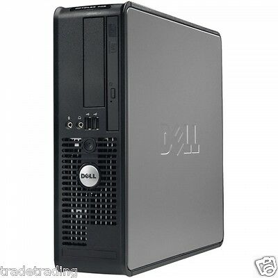 JOBLOT OF 5 x DELL Optiplex Core 2 Duo@2.2GHz 1GB ram DVD (without Hard Drive)