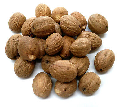 Whole Nutmeg Grade A Premium Quality Free UK P & P