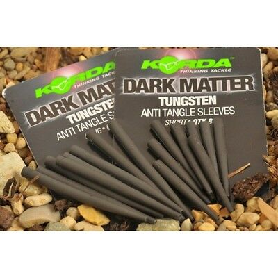 Korda NEW Dark Matter Anti Tangle Tungsten Sleeves *Short or Long*