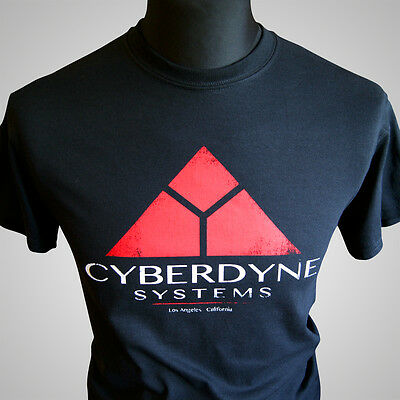 Cyberdyne Systems Terminator II Retro Movie T Shirt Skynet T800