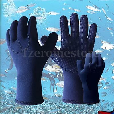 5mm Scuba Skid-proof Neoprene Wetsuit Gloves Swimming Diving Surfing Glove