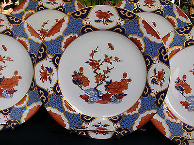 SPODE SHIMA Y8172 ROUND- c.1974- DINNER PLATE(S)-EXCELLENT!! NEAR MINT!! GILT!!