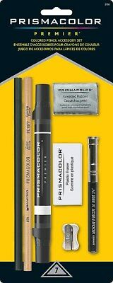 Prismacolor Premier 7 piece Colored Pencil Accessory Set Kit Blender Eraser Etc