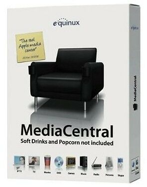 equinux MEDIA CENTRAL for Apple Mac, Brand New !! Aust. Stock