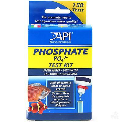 Api Phosphate Po4 Test Kit Tropical Coldwater And Marines Fish Tank Aquarium