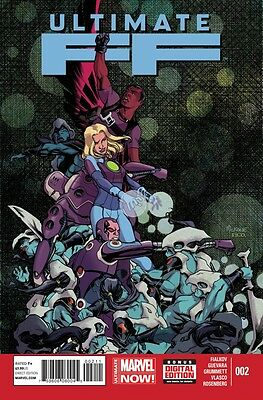 Ultimate Ff (2014) #2 Vf/nm Marvel Now