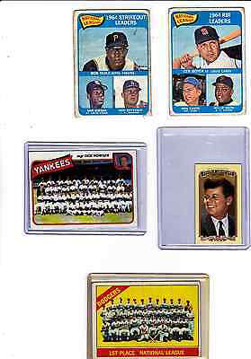 1966 TOPPS #238 LOS ANGELES DODGERS TEAM CARD--STORE