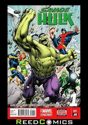 SAVAGE HULK #1 (1st Print) NEW by Alan Davis Comes Bagged & Boarded