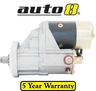 Starter Motor to fit Toyota Forklift 5FD 3.0L Diesel 2J 1DZ Engine 1986 to 1994