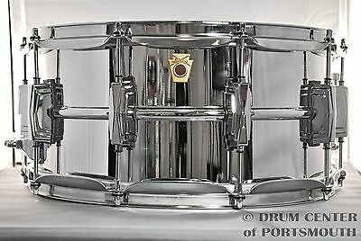 Ludwig Supraphonic Snare Drum 6.5x14 - LM402 - VIDEO - Free Shipping!