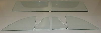 Back Glass Clear 1963 1964 1965 Ford Fairlane 2 Door Hardtop