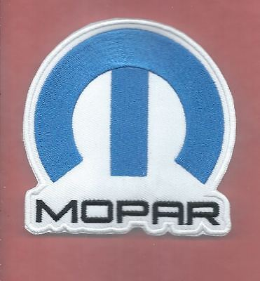 NEW 3 1/2 INCH MOPAR IRON ON PATCH FREE SHIPPING