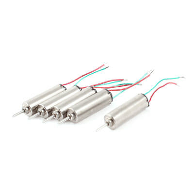 DC 3.7V 66000RPM 4 x 12mm Wired Micro Coreless Motor for Helicopter Model Toy