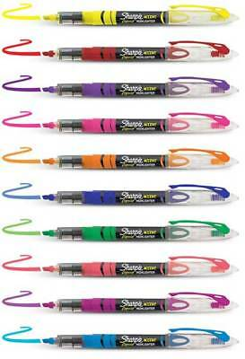 Sharpie Liquid Highlighters Visible Ink Supply Pigmented Fluorescent Colors