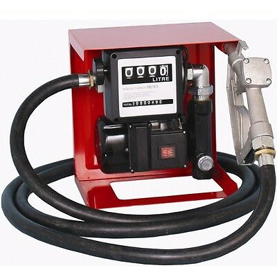 Bell-60 Electric Fuel Dispensing Pump Kit 230V, Wall Mount