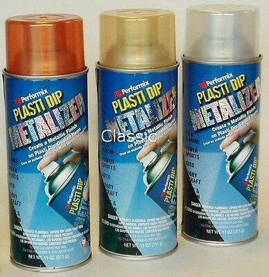 PELLICOLA VERNICE SPRAY PLASTIDIP METALIZER 311gr