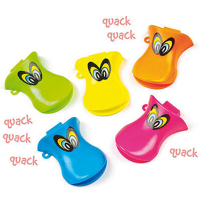 Duck Whistles for Children to Play Perfect Party Bag Filler (Pack of 6)
