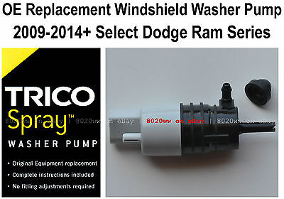 Windshield / Wiper Washer Fluid Pump (a) - Trico Spray 11-614