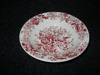 Taylor Smith Taylor Red  Transfer TST610 Fruit Bowl Center Bouquet