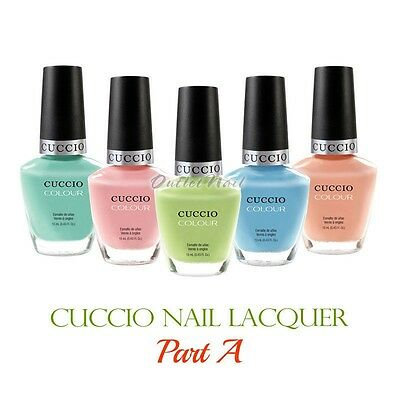 CUCCIO Colour PART A Professional Nail Lacquer  Polish 13 mL/ 0.43 oz   Ship 24H