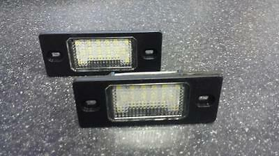 Vw Touareg (03-10) 18 Led Smd Number Plate Replacement Units 6000K Xenon White