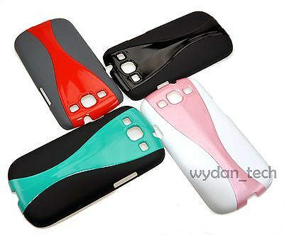 For Samsung Galaxy S3 Lightweight Ultra Thin Hard Case Slim Wavy Cover