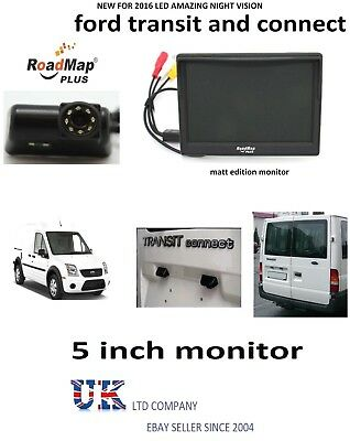 ford transit Transit connect Rear Reversing Reverse camera & 5 inch Monitor
