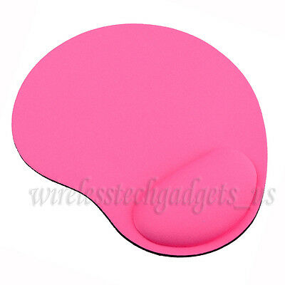Pink Wrist Rest Soft Support Comfort Mousepad Mat Mice Pad Fast Free Shipping US