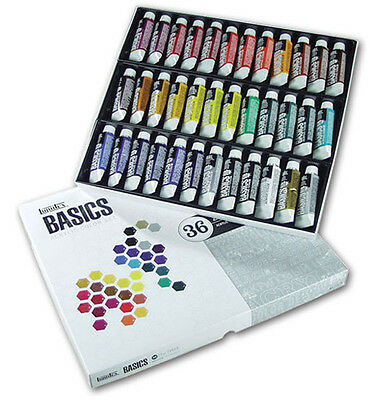 Liquitex Basics Acrylic Paint Set 36 x 22ml
