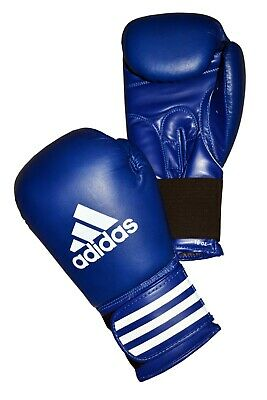 Adidas Leather Boxing Gloves Performer 8, 10, 12, 14,16, 18 oz Black Blue Red