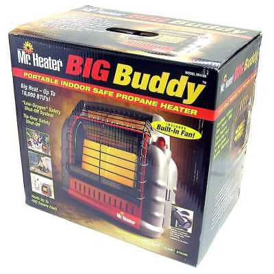 Mr. Heater Portable Big Buddy Propane Gas Heater MH18B Indoor-Outdoor F274800