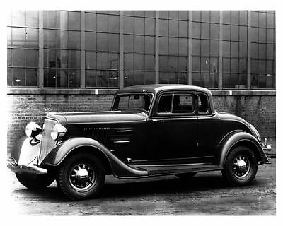 1934 Plymouth Six Sedan Factory Photo ca1197
