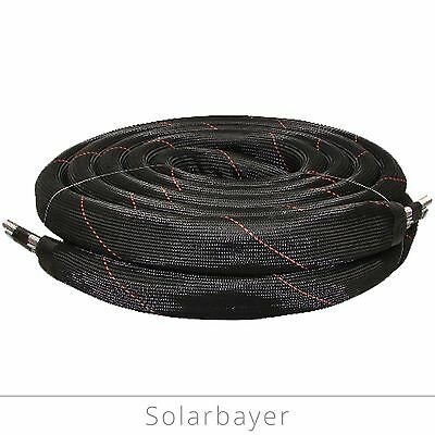 Solar pipe DN20/25m Stainless steel corrugated tube Doppelwellrohr