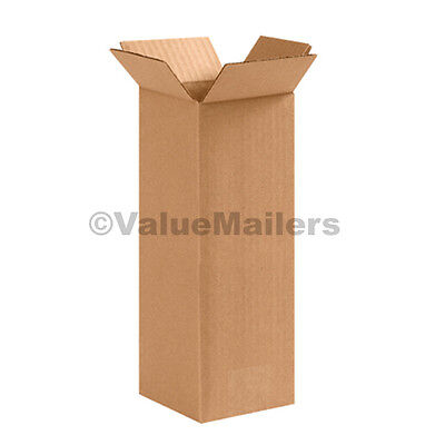 4x4x24 50 Shipping Packing Mailing Moving Boxes Corrugated Cartons