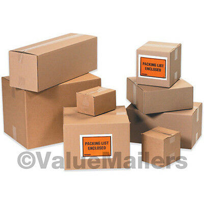 12x6x4 50 Shipping Packing Mailing Moving Boxes Corrugated Cartons