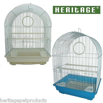 FPO025 HERITAGE KENDAL BIRD CAGE 34x28x49CM FINCH BUDGIE CANARY HOME PET BIRDS