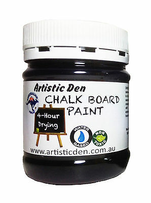 Blackboard Paint Chalkboard Paint Black 250ml Menue Board Paint Chalk Paint