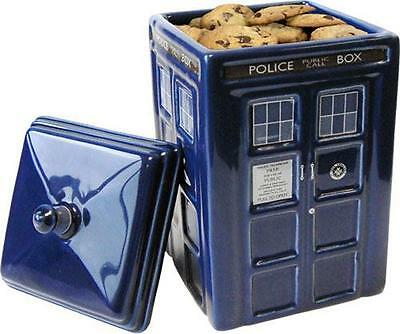 Dr Who: Official BBC Merchandise Tardis Ceramic Cookie Jar - New In Box