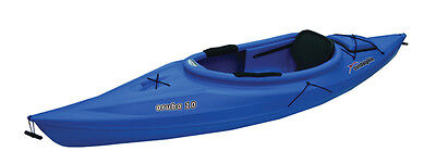 NEW BLUE 10 Ft Sun Dolphin Water Quest Aruba 10 Sit-in Kayak With Paddle
