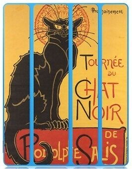 Skin Adesivo Smart Cover Case Soon The Black Cat Tour By Rodolphe Salis