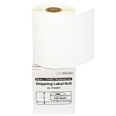 2 Rolls of 220 4x6 Shipping/Postage Labels in Mini-Cartons DYMO® 4XL 1744907